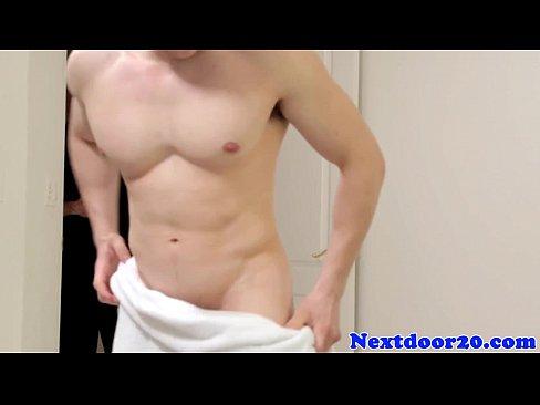 Ass Rammed Hunk Facialized