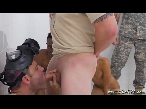 Hardcore gay sex army R&R, the Army69 way
