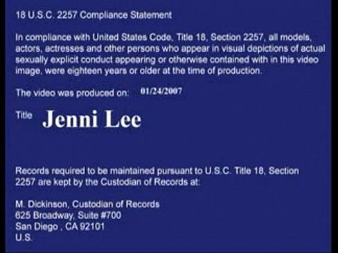 Jenni Lee fucks best friends brother