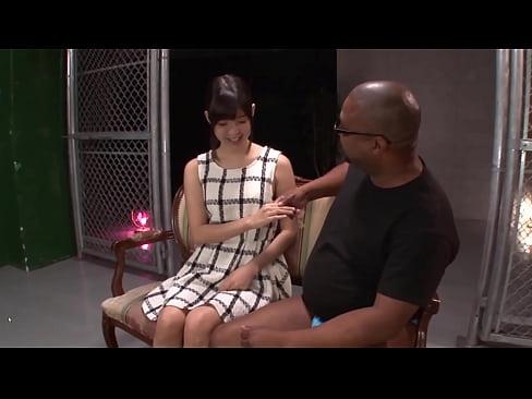 Aoi Tsukasa Working Her Magic On A Gigantic BBC