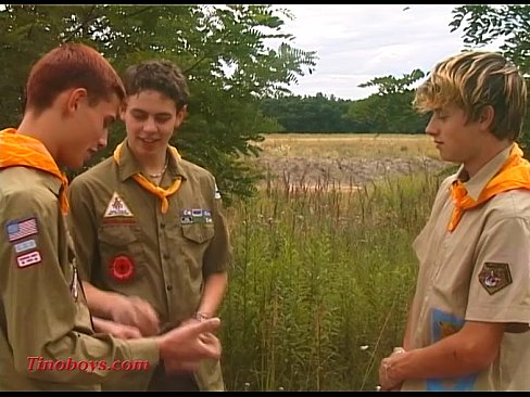 boy scout teen threesome fucking