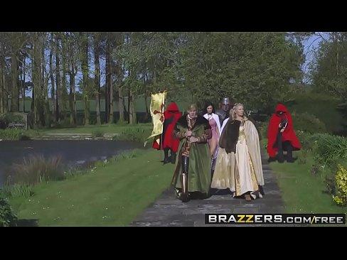 Brazzers - Storm Of Kings XXX Parody Part Anissa KateandJasmine JaeandRyan R