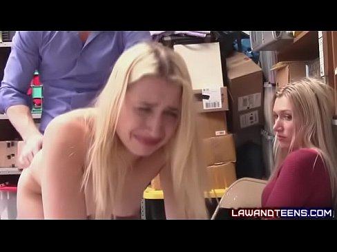 Mom Watches Daughter Friend