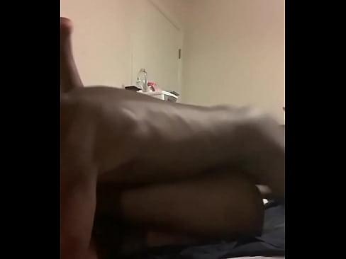 Hot blonde girl sucking dick