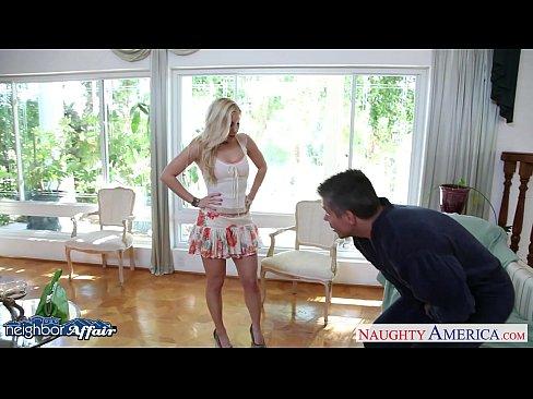Sweet blonde Ashley Fires fuck her neighbor