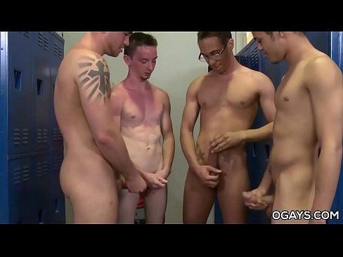 twink guys having an orgy