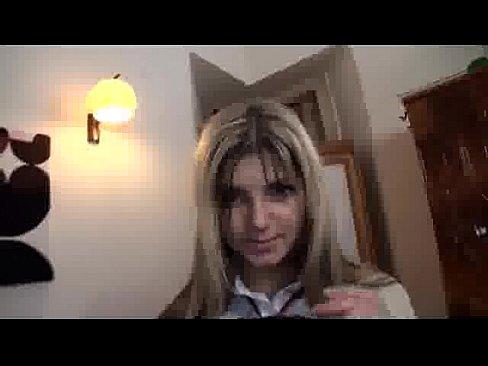 Amateur Schoolgirl Gina Gets Filled