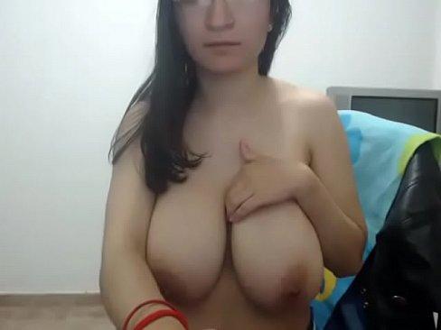 Hot latina huge tits video