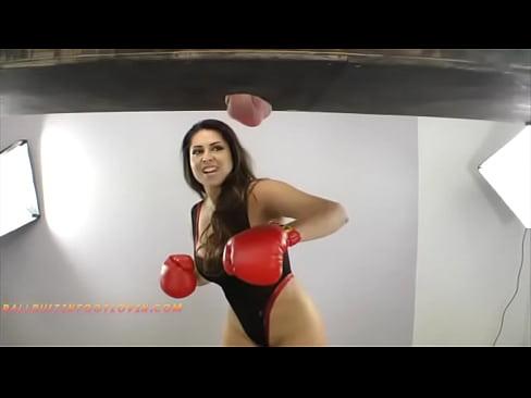 Deepthroat femdom slave boxing story