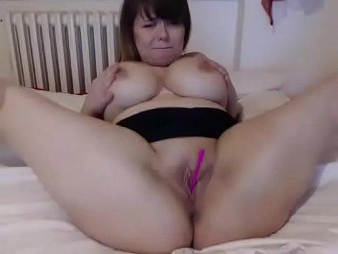 Bbw handjob an cum