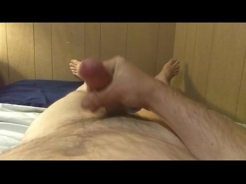Filthy soloist cumming after masturbation
