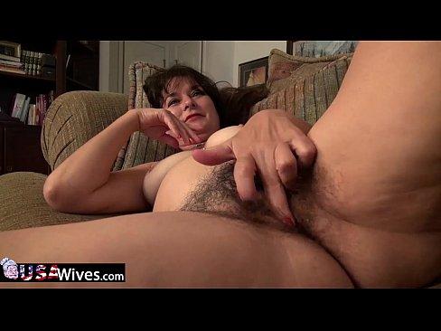Usawives horny mature solo toys masturbation - 1 part 3