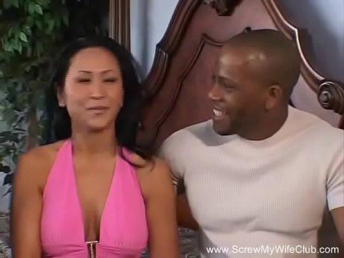 Ebony Milf Interracial Pov