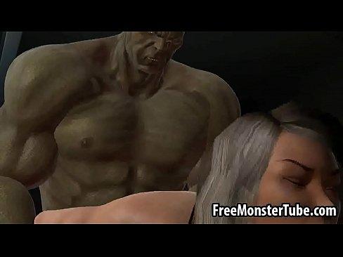 Hulk penis in girl pussy