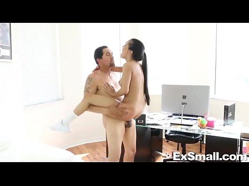 Tiny Latina Sucks and Fucks