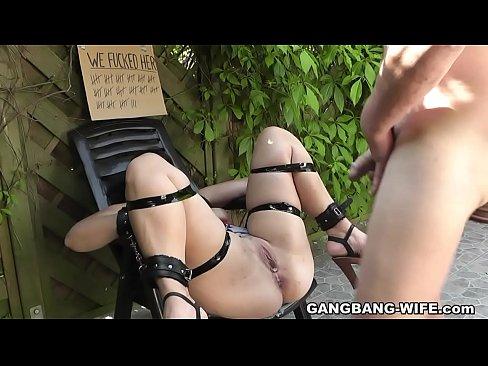 Kinky gangbang slut commit error