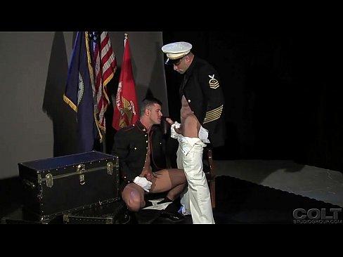 Gay Marines Fuck On Desk