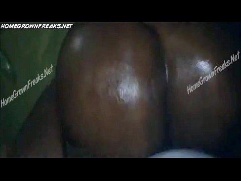 Big Ebony Booty White Dick