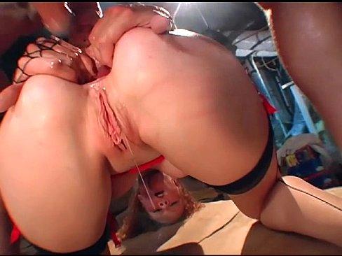 Seamed stocking sex