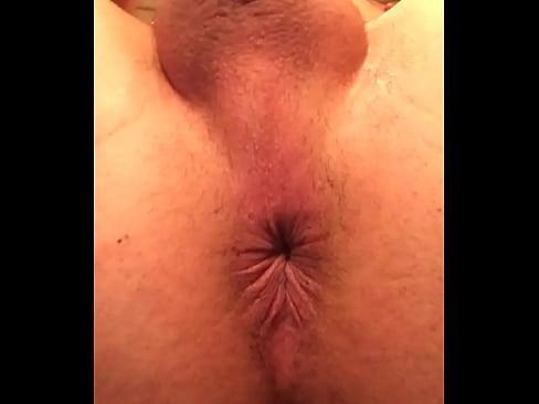 Contracting Asshole Closeup