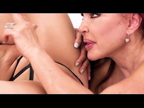 Big Tit MILFs Have Lesbian Sex