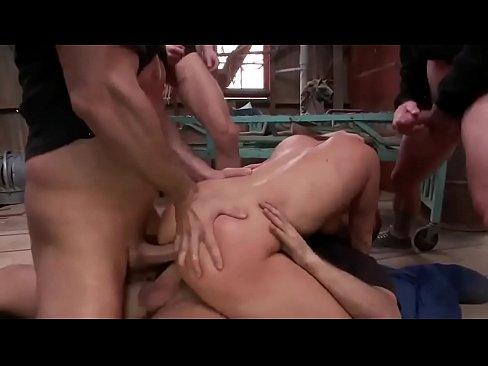 Black Hard Rough Sex Creampie