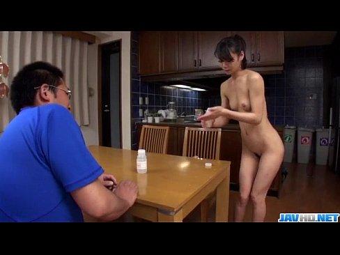 Akubi yumemi really loves cracking her twat 3
