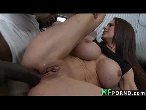 Landlord gets fucked by black dick Mckenzie Lee 5