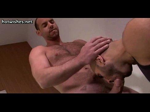 Bald gay cum eater img
