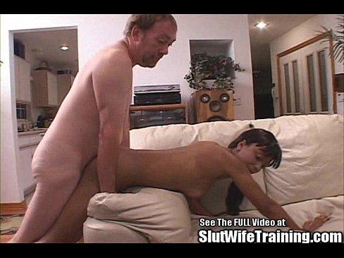 Strapon lesbian fucks wife
