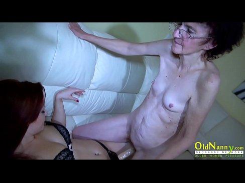 Really. lesbian having sex with grandma you