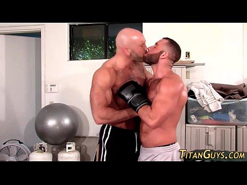 Muscle Hunk Jizz Soaked