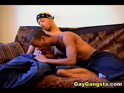 Ebony gay hardcore