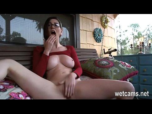 Bbw Teen Masturbates Her Car