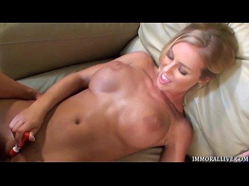 Nicols Big Cock Threesome