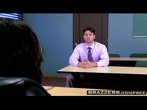 Teacher interracial real student