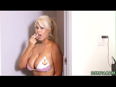 Bridgette B tit fucking
