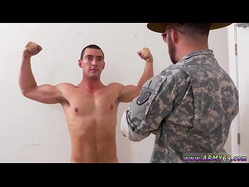 Gay army training porn