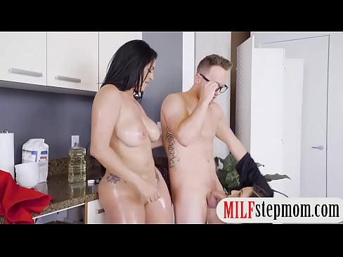 Big Ass Step Mom Fucks Son