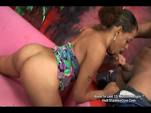 Ebony Sucking Huge Dick