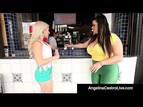 Girls bending naked ass at the waist