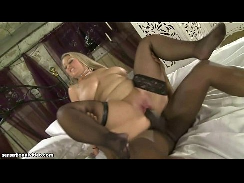 White wife scared ofbig black cock