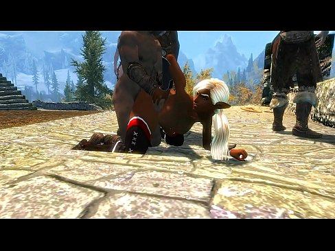Los bandidos de captura elfo oscuro