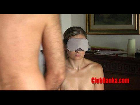 Blindfolded Blowjob