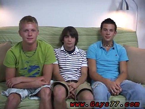 Three Boys Enjoy Sucking