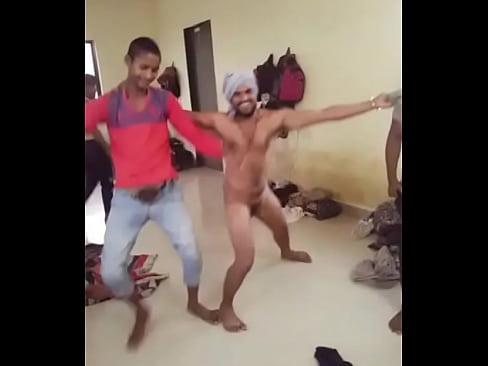 Indian desi boys funny nude dance