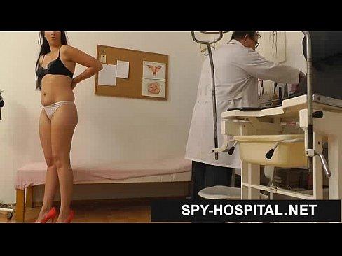 Hidden caught real nurse having sex