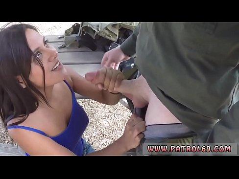 Big tit wife sucking cock