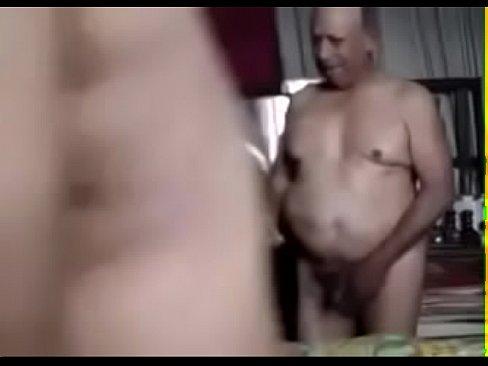 Old grandpa fuck his buddy