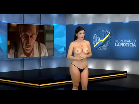 Venezuelan reporter nude